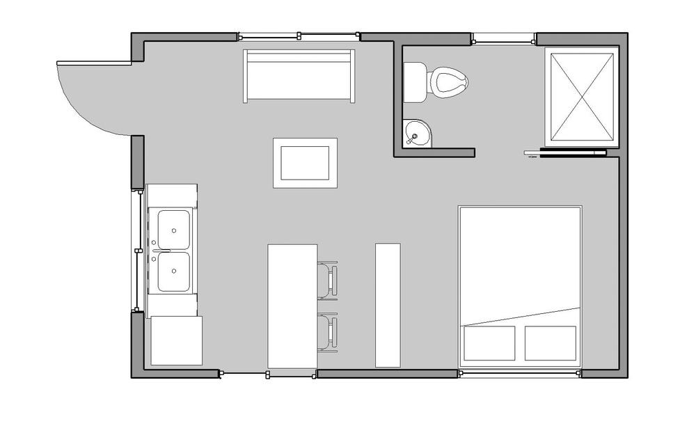 14x20 reclaimed space for 16 x 50 floor plans