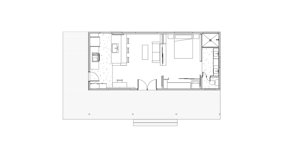 Reclaimed Space | Designer Show home Floor Plan