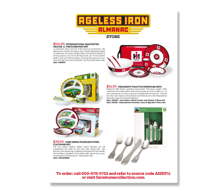 Ageless Iron Almanac Ad