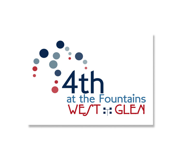 West Glen Fourth at the Fountains Logo