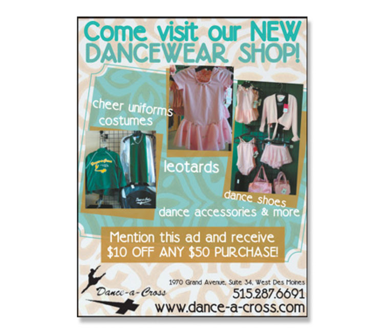 Dance-A-Cross | Iowa Living Magazines