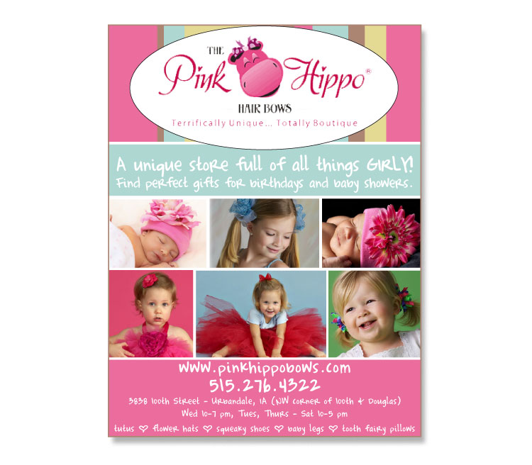 The Pink Hippo | Iowa Living Magazines