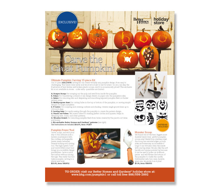 Halloween Tricks & Treats Ad