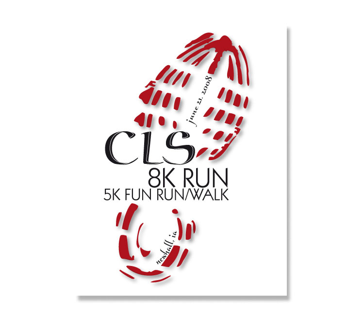Central Lutheran School Fun Run Logo