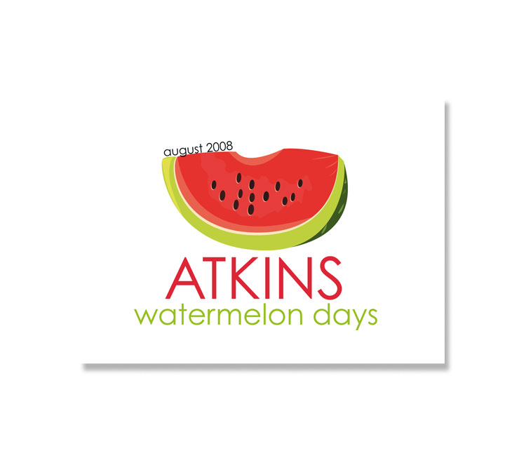 Atkins Watermelon Days Logo