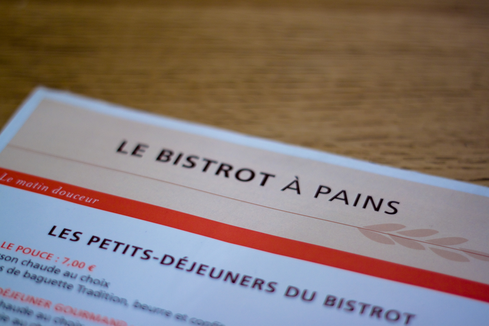 le bistrot à pains paris