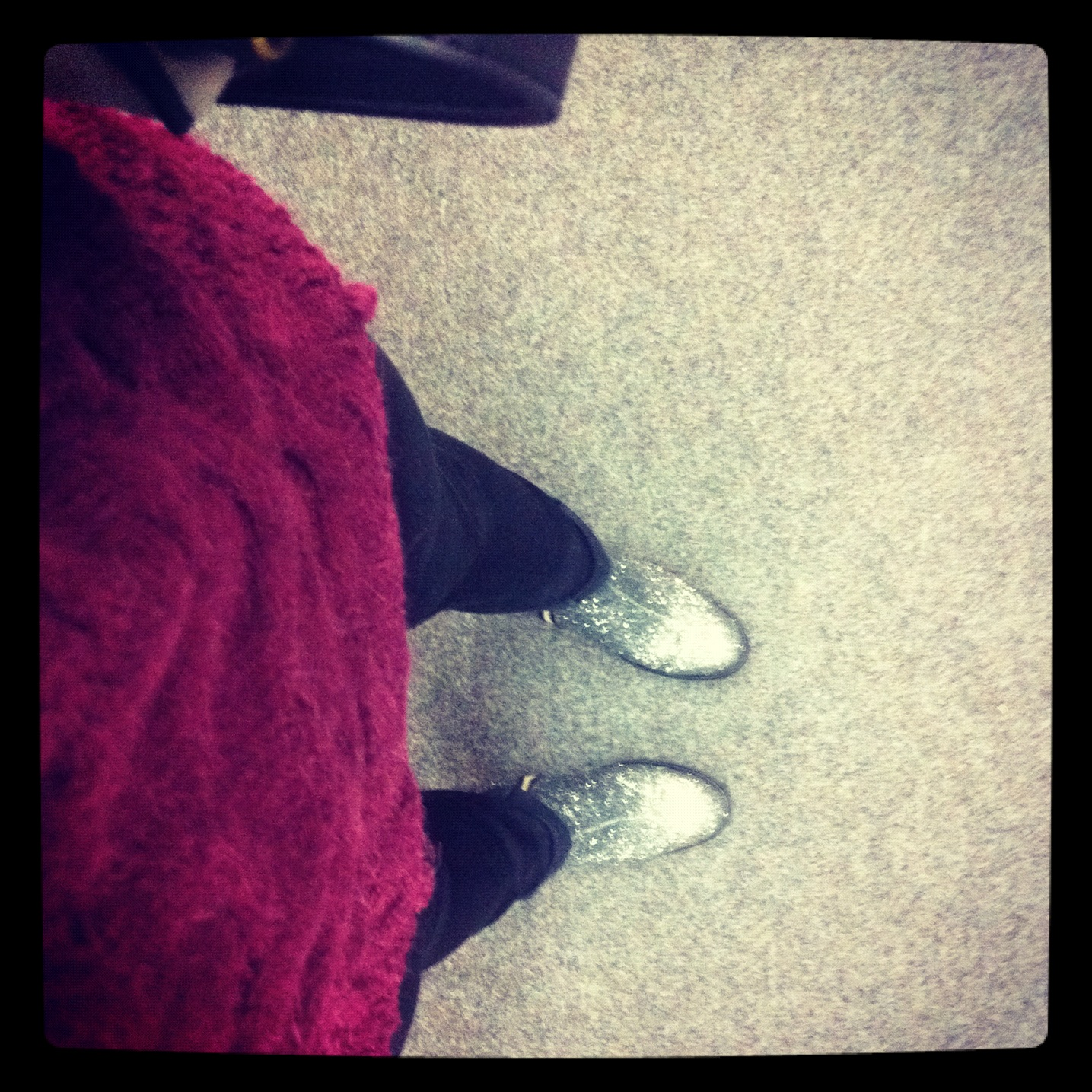 topshop ambush glitter boots