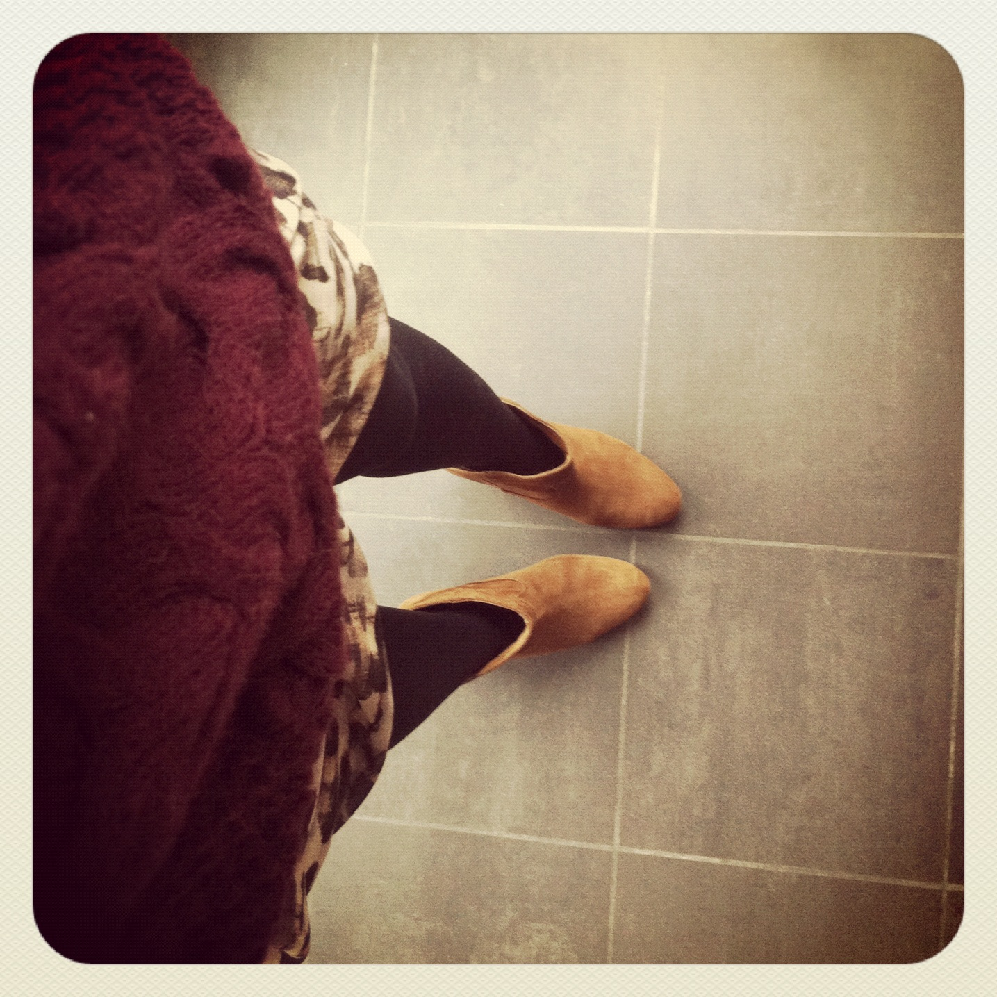 leo skirt and mango boots