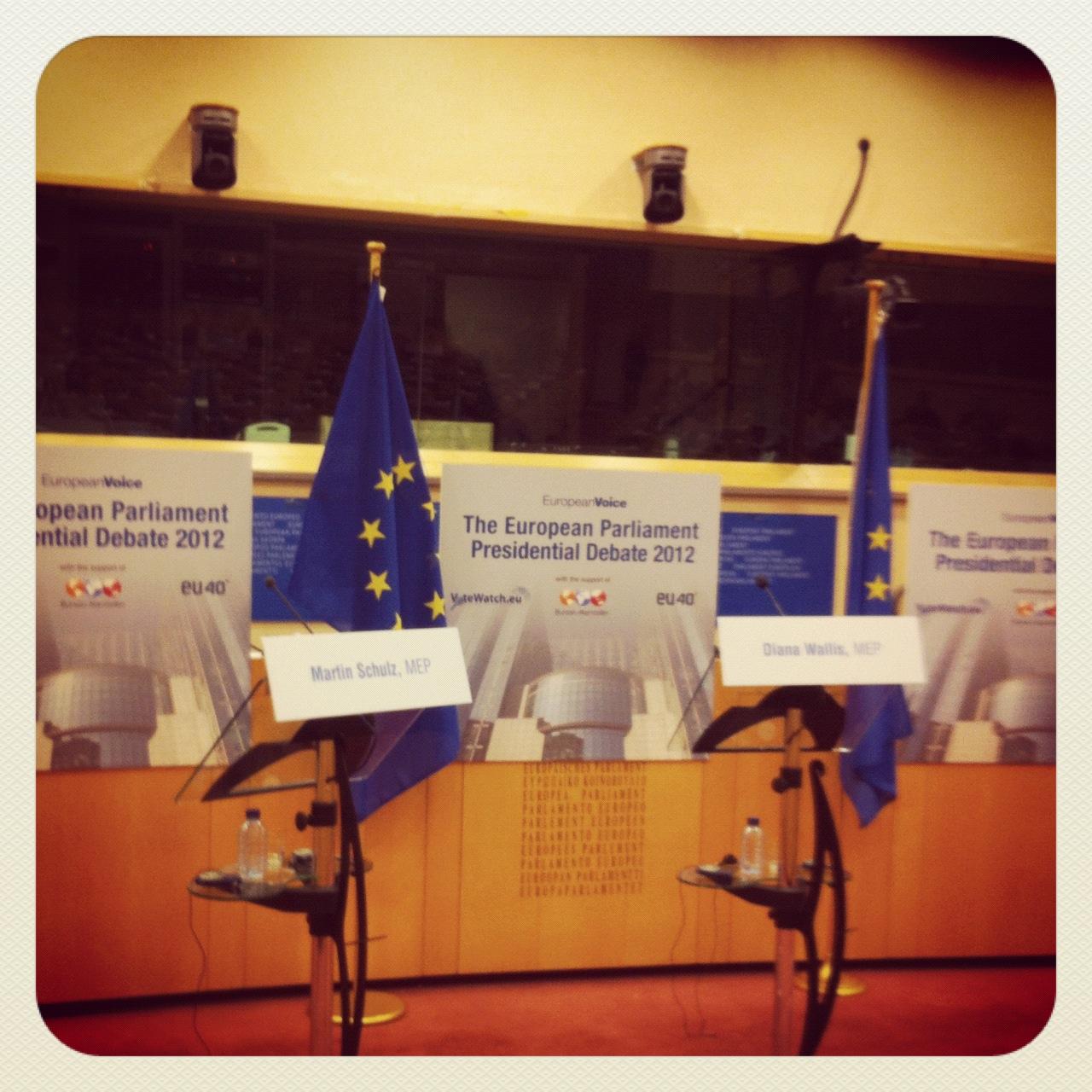 EP presidential debate
