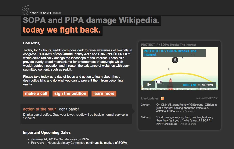 stop sopa and pipa
