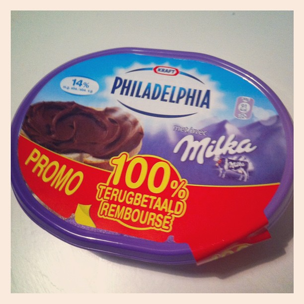 philadelphia and milka