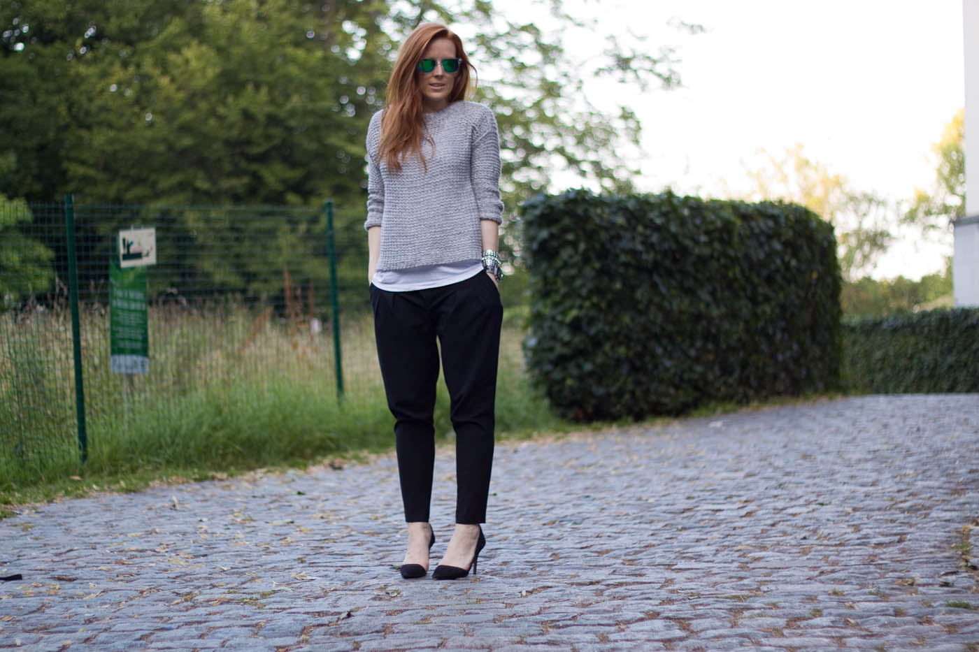 the perfect black trousers