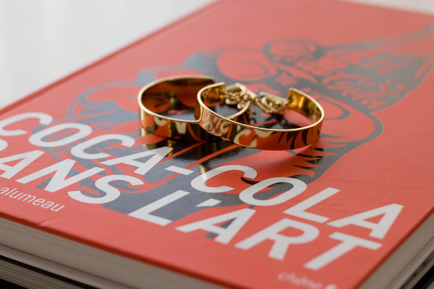 H&M gold cuff
