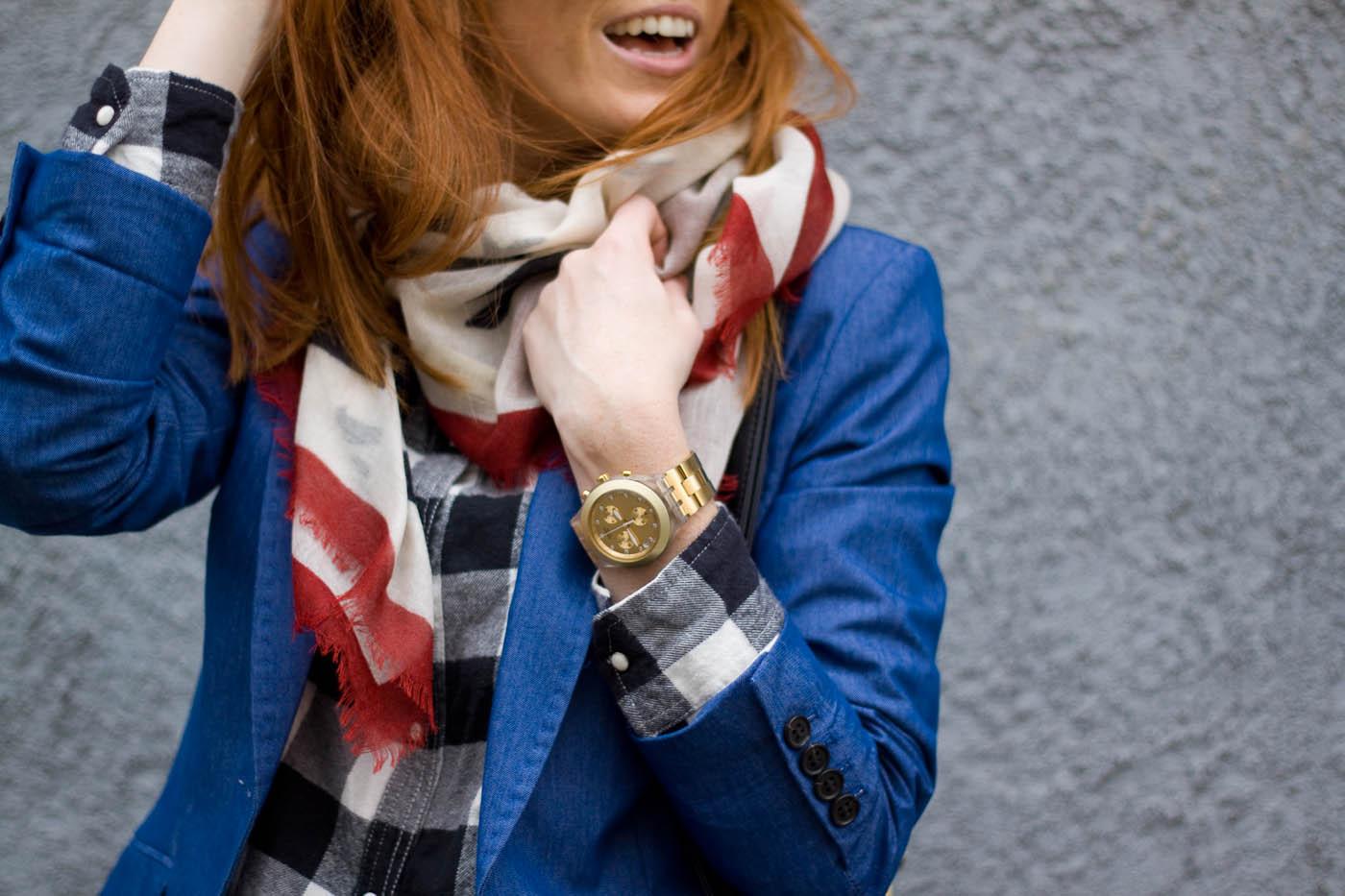 percy stone scarf
