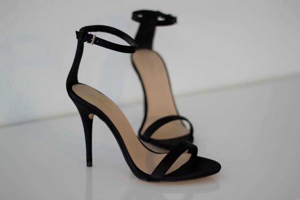 the zara strappy heels