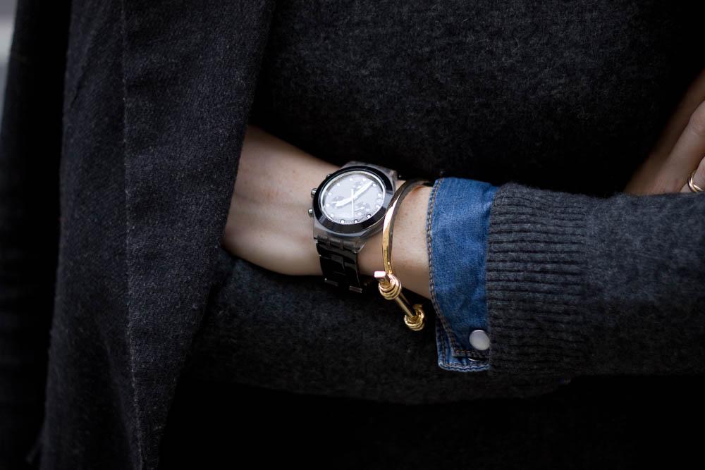 Afterdrk x maison bonneterie bracelet