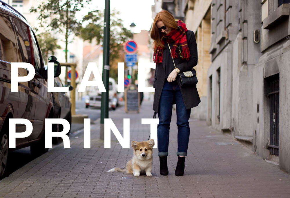 plaid print