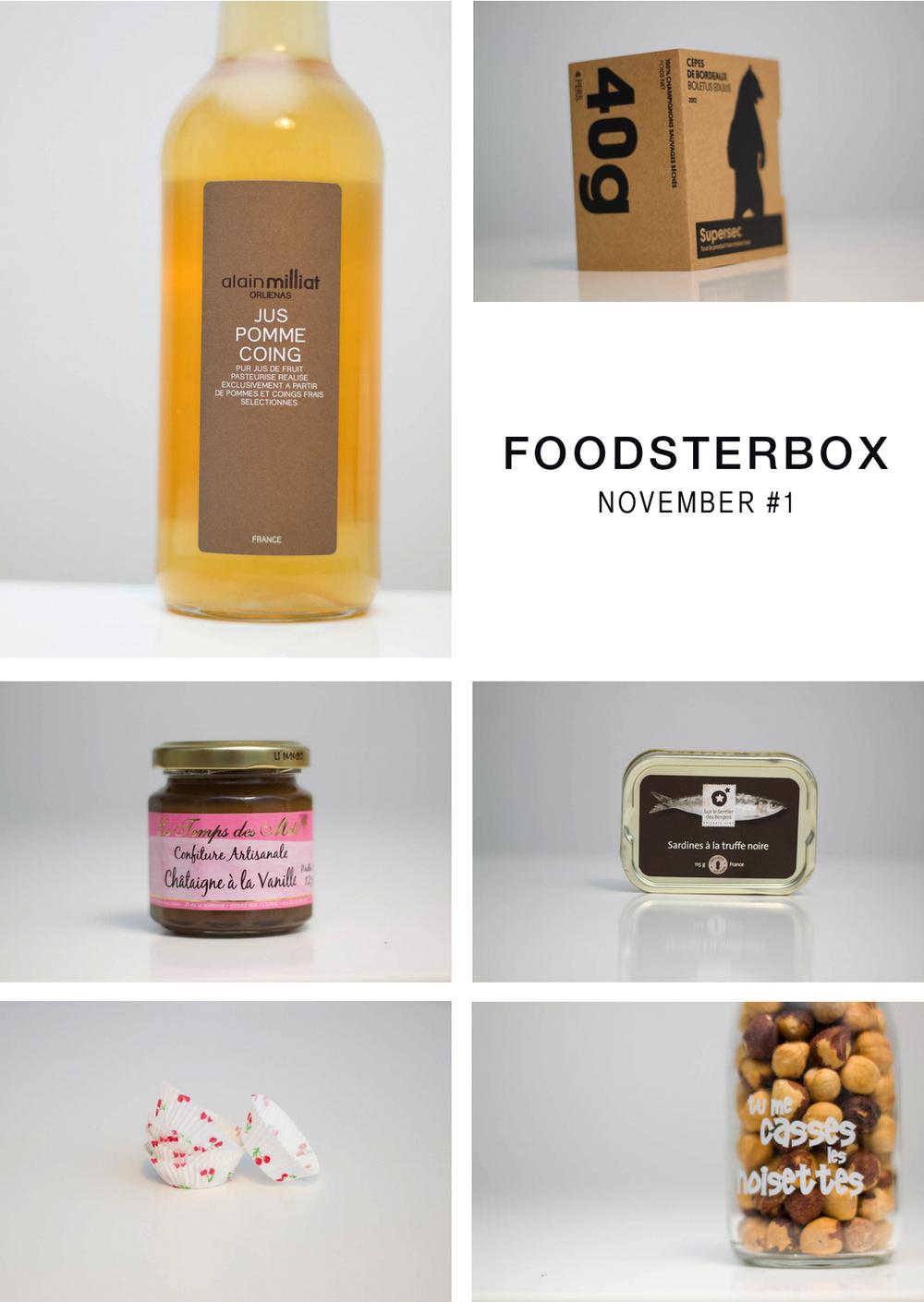 Foodsterbox montage
