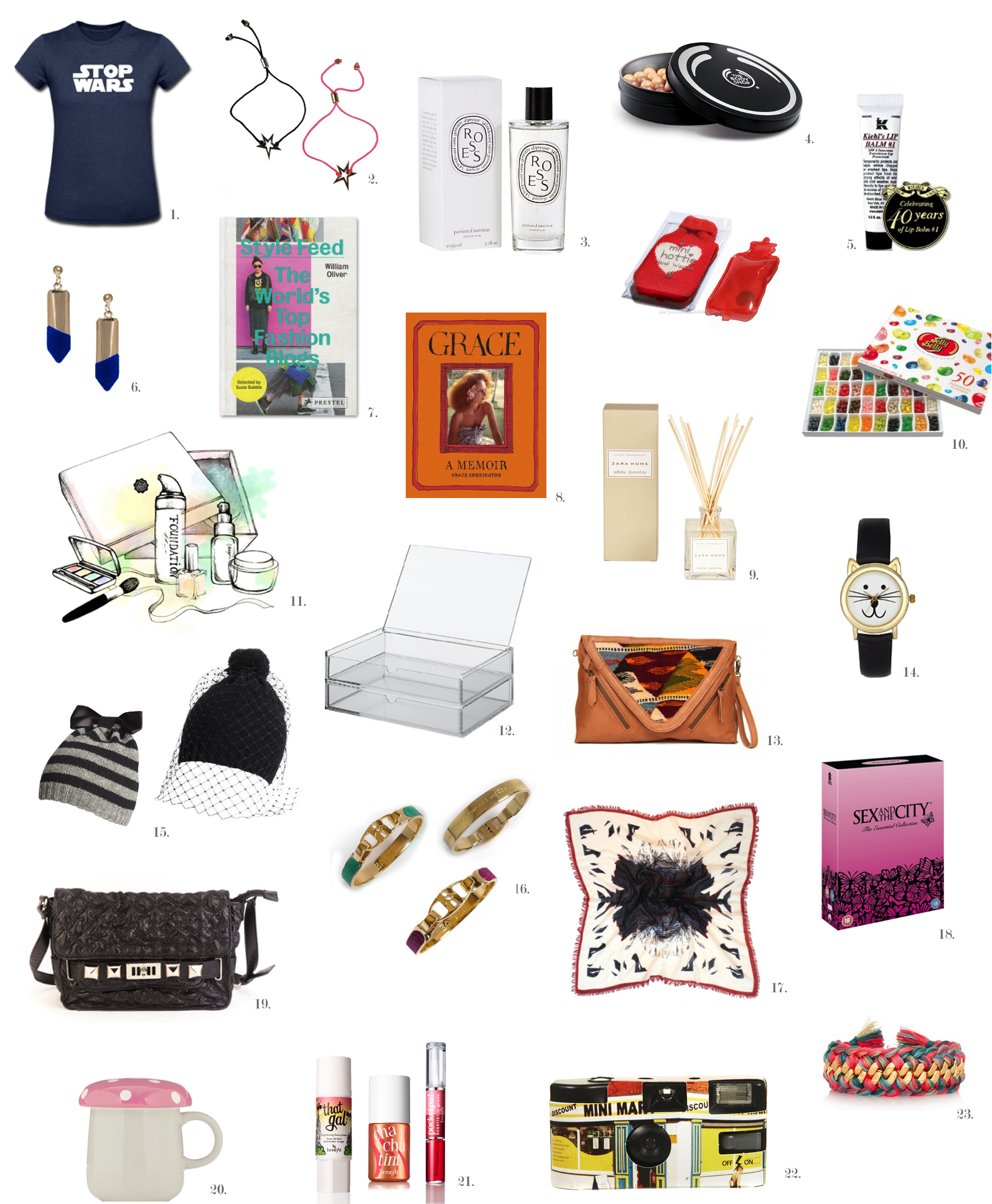Christmas List Ideas.Christmas Gift Ideas For Her The Fashioncloud