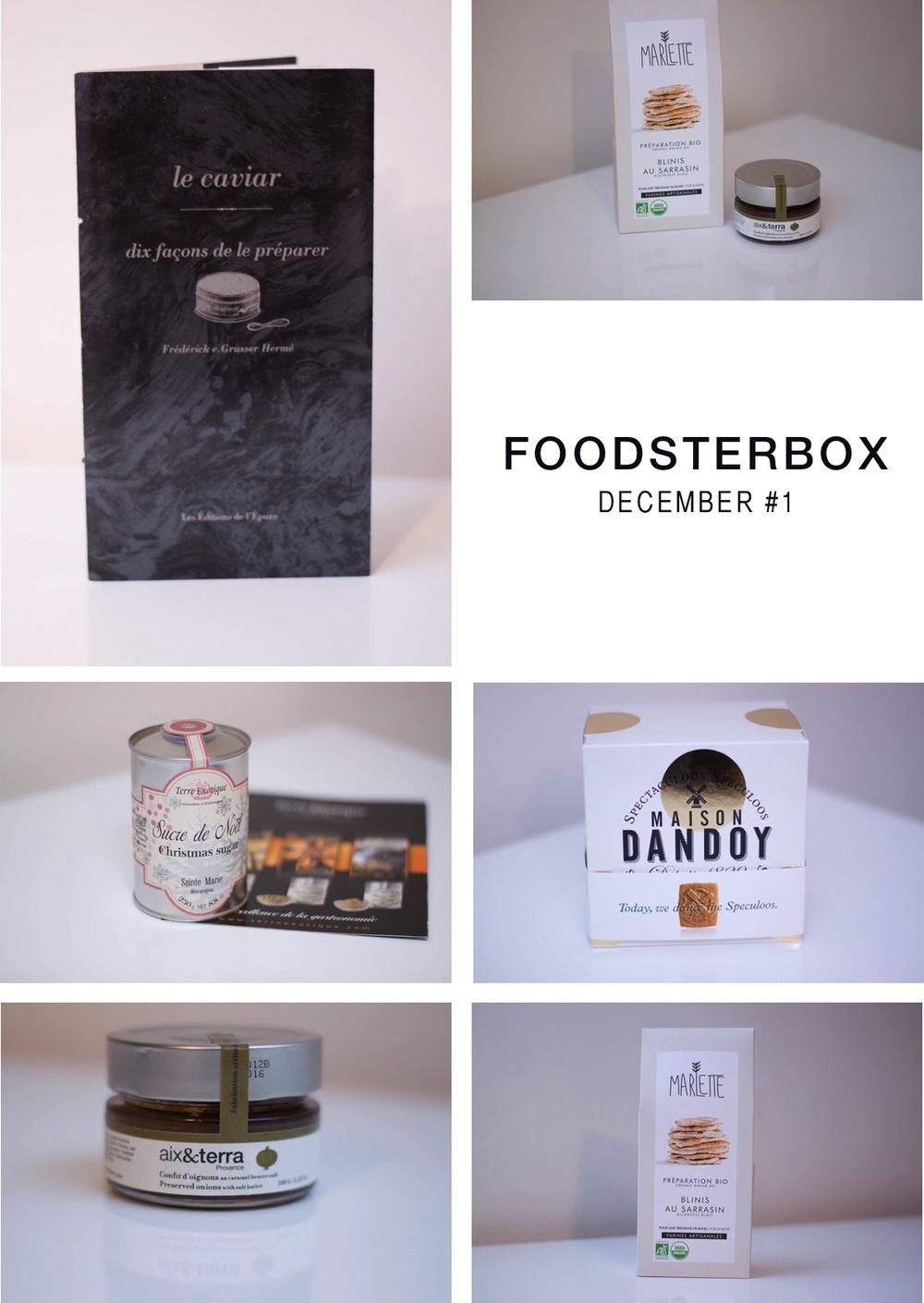 foodsterbox decembre