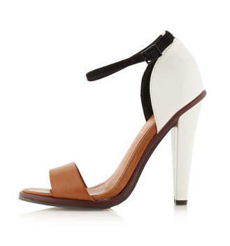 Regal colour block sandals