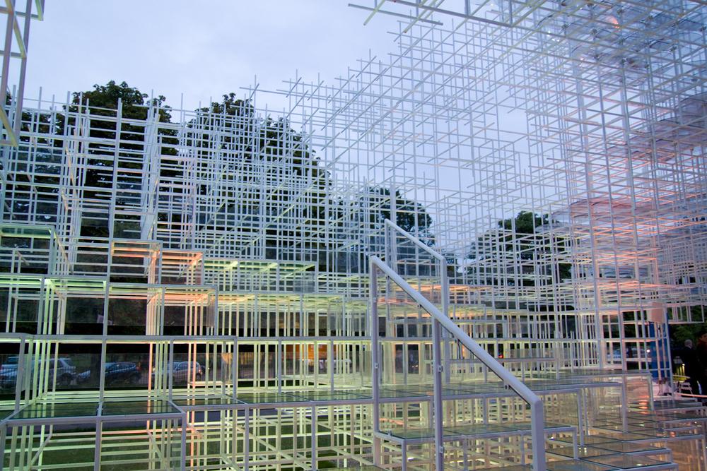 6pm - Serpentine Gallery Pavilion 2013  Designed by Sou Fujimoto