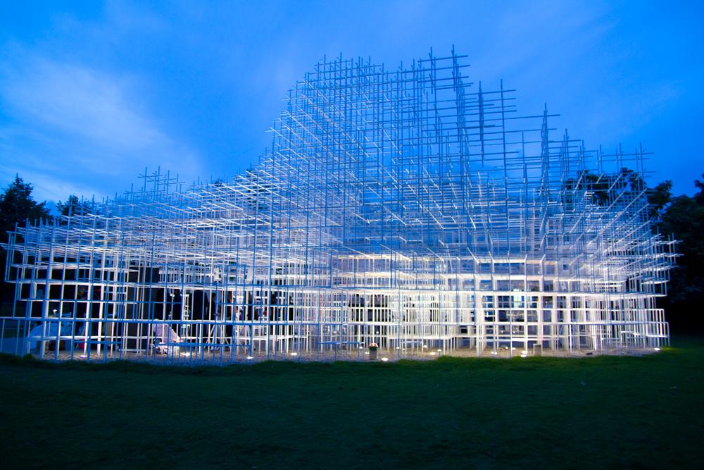 6:30pm - Serpentine Gallery Pavilion 2013Designed by Sou Fujimoto