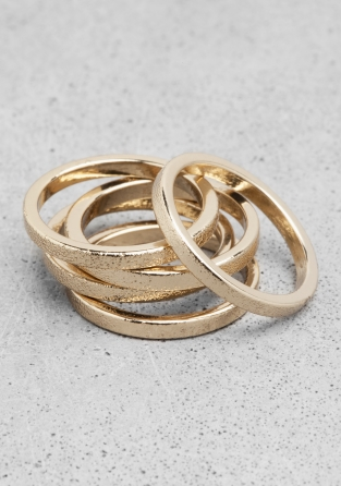 &otherstories brass ring set