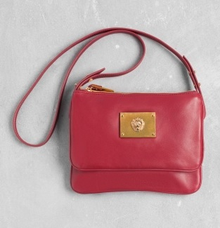 &other stories leather shoulder bag