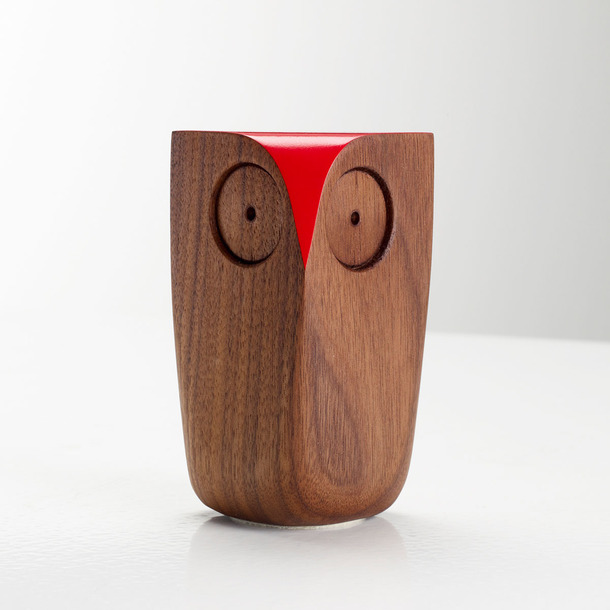 Matt Pugh walnut owl