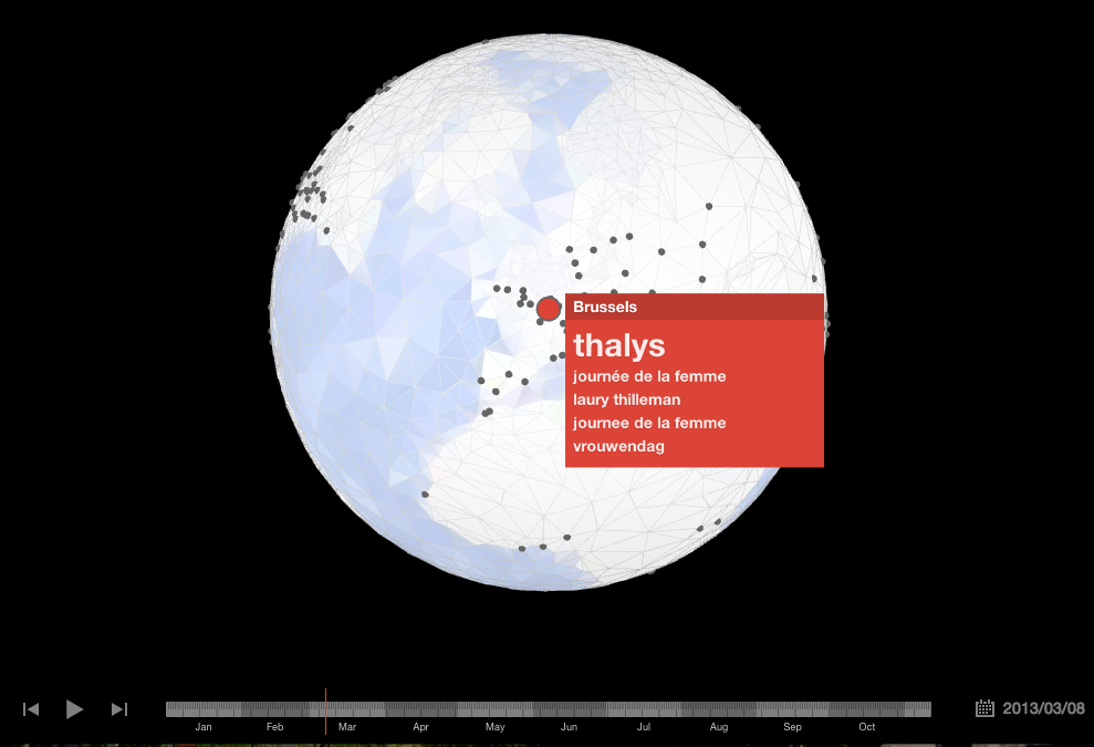 Google globe trends