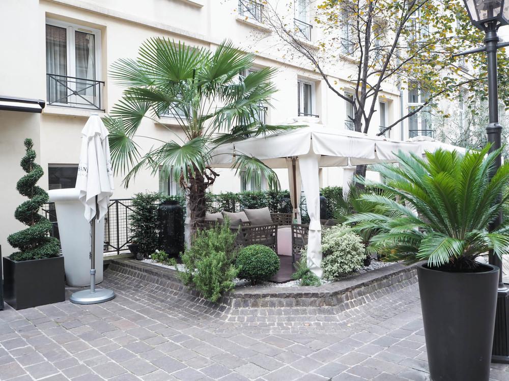 Les jardins du marais the fashioncloud - Jardins du marais restaurant ...
