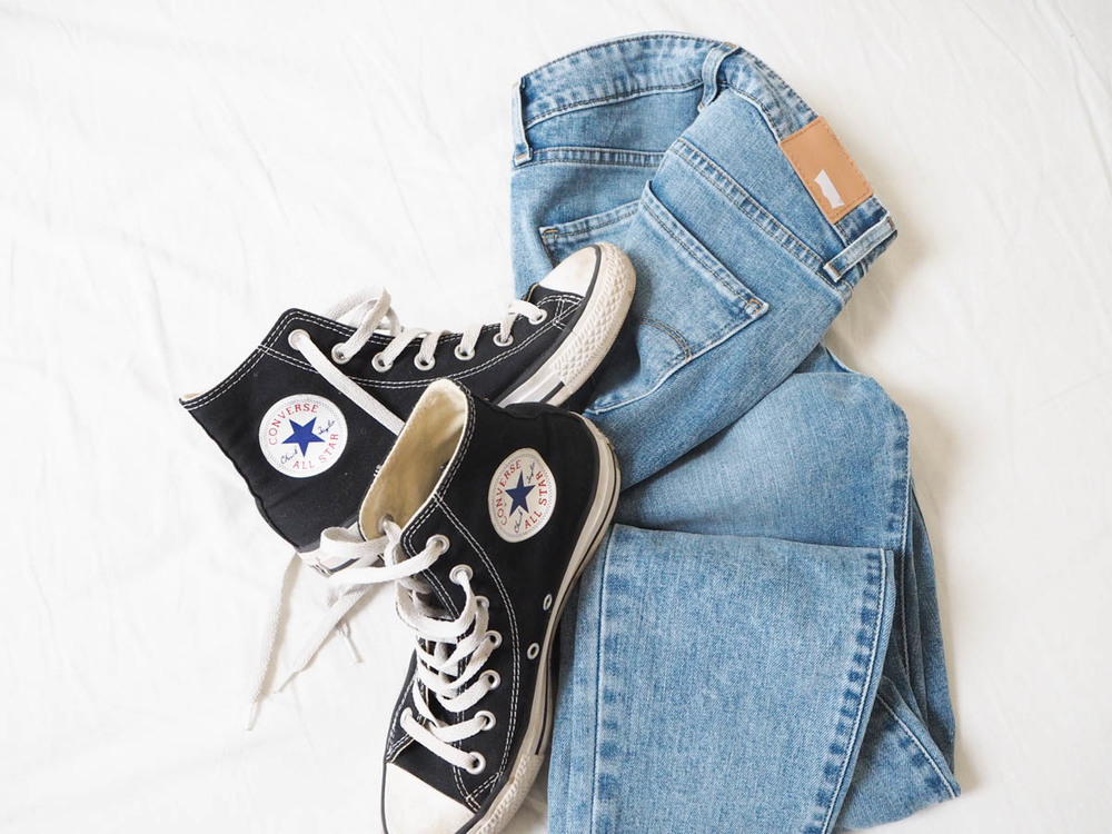 Levi's and converse