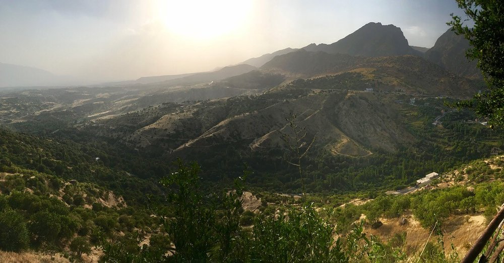 View from Amadiya
