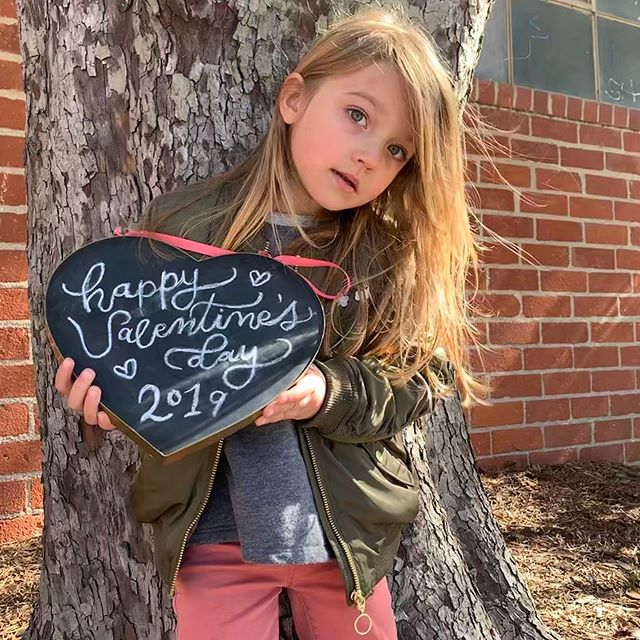 Happy Valentines day from us 🥰❤️🥰 #happyvalentinesday #stopit #mygirl #photogenic #mybeauty #mydaughter #kidsfashion #portraitphotography #imadeher #beautiful #kidmodel #lamom #motherhood #nofilter #proudmama