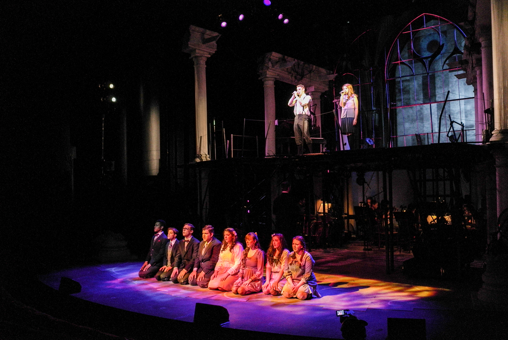 The cast of Spring Awakening