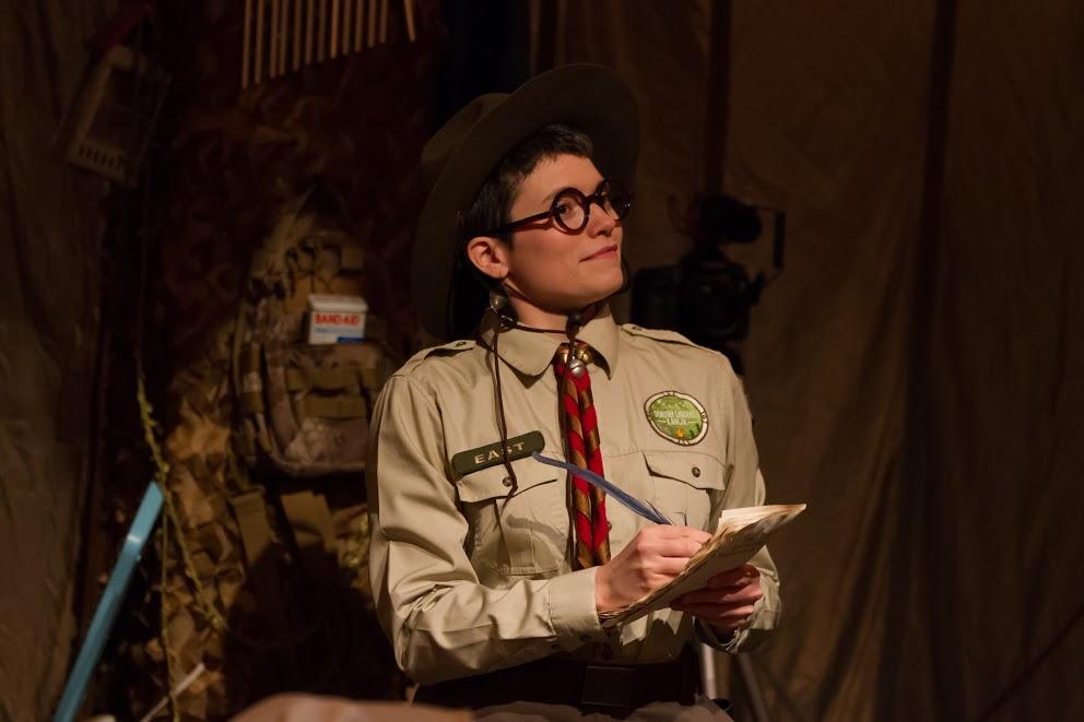 Ranger East (Jamie Agnello) preserves the stories of Dorothy Sanders