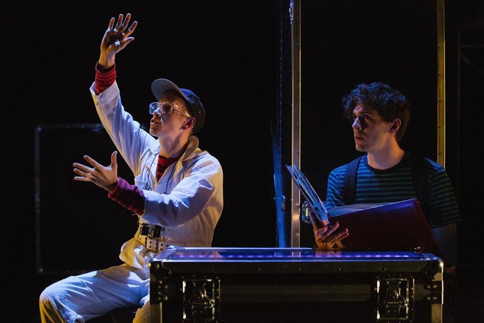 The Boy (Spencer Lott) and Simon (Will Seefried)