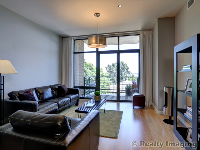 HOT,  NEW listing in luxury Condo in heart of NW! LEED silver building. $495,000