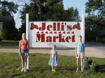 The start of Jelli's in 2001....