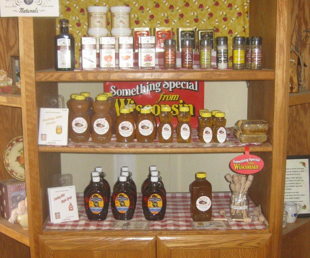 honey & maple syrup