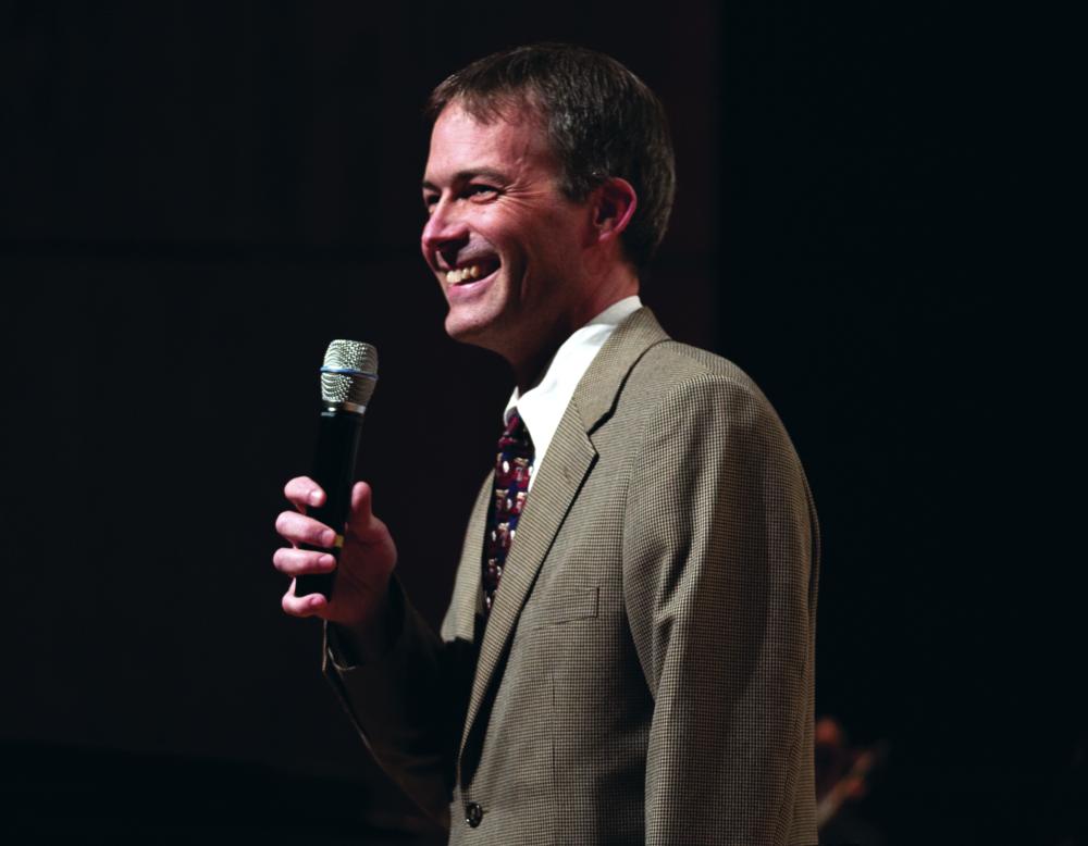 Composer in Residence Jim Stephenson