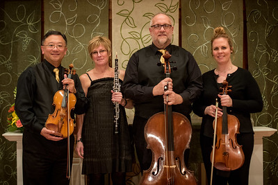 SALON SERIES METROPOLIS OBOE QUARTET MAR 2 Deb Stevenson  oboe Thomas Yang  violin Rose Armbrust Griffin  viola Steven Houser  cello