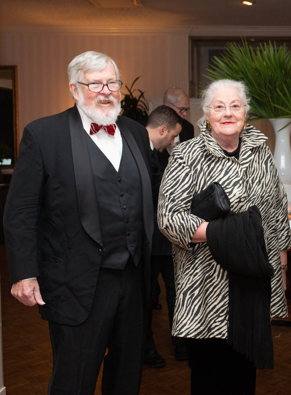 Barry & Barbara Carroll at the 2018 Symphony Gala.
