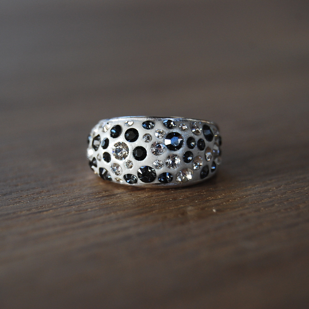 Swarovski Crystal Clay Ring