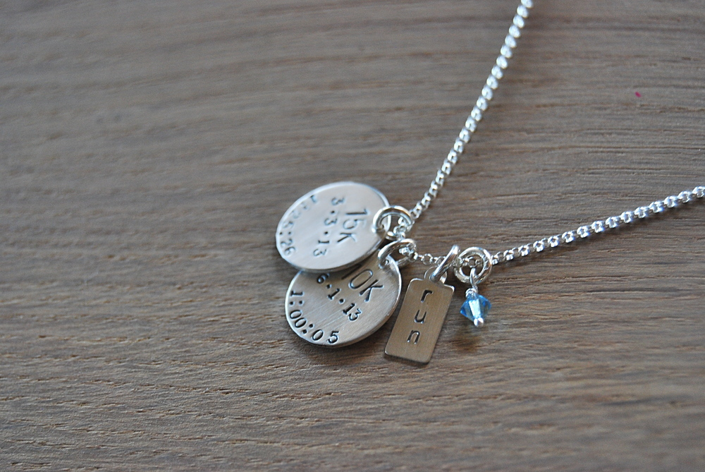 Example:  Runners Necklace