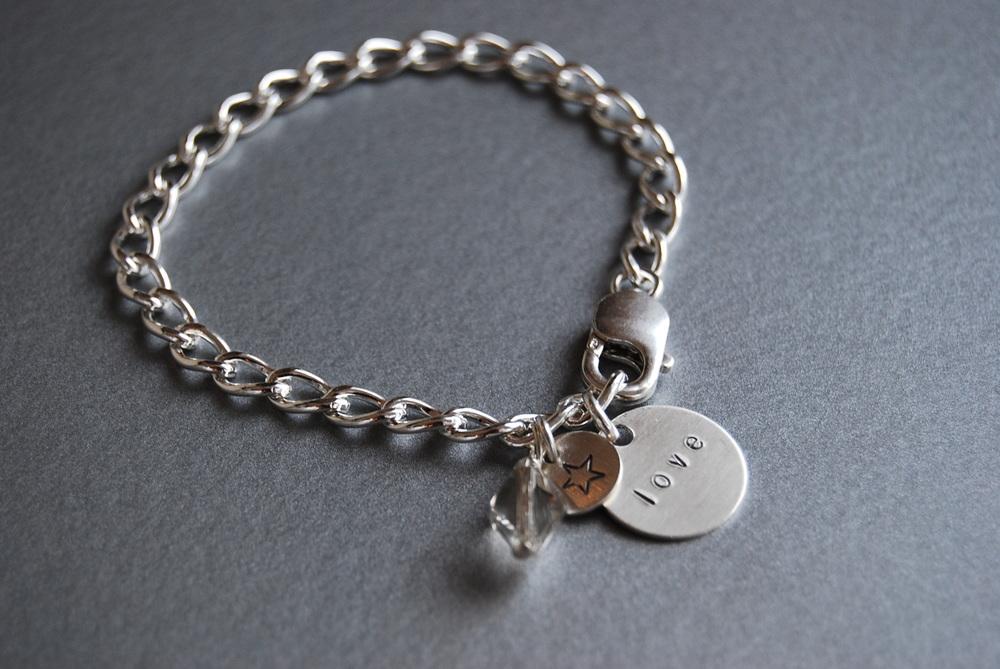 """Love"" Charm Bracelet"