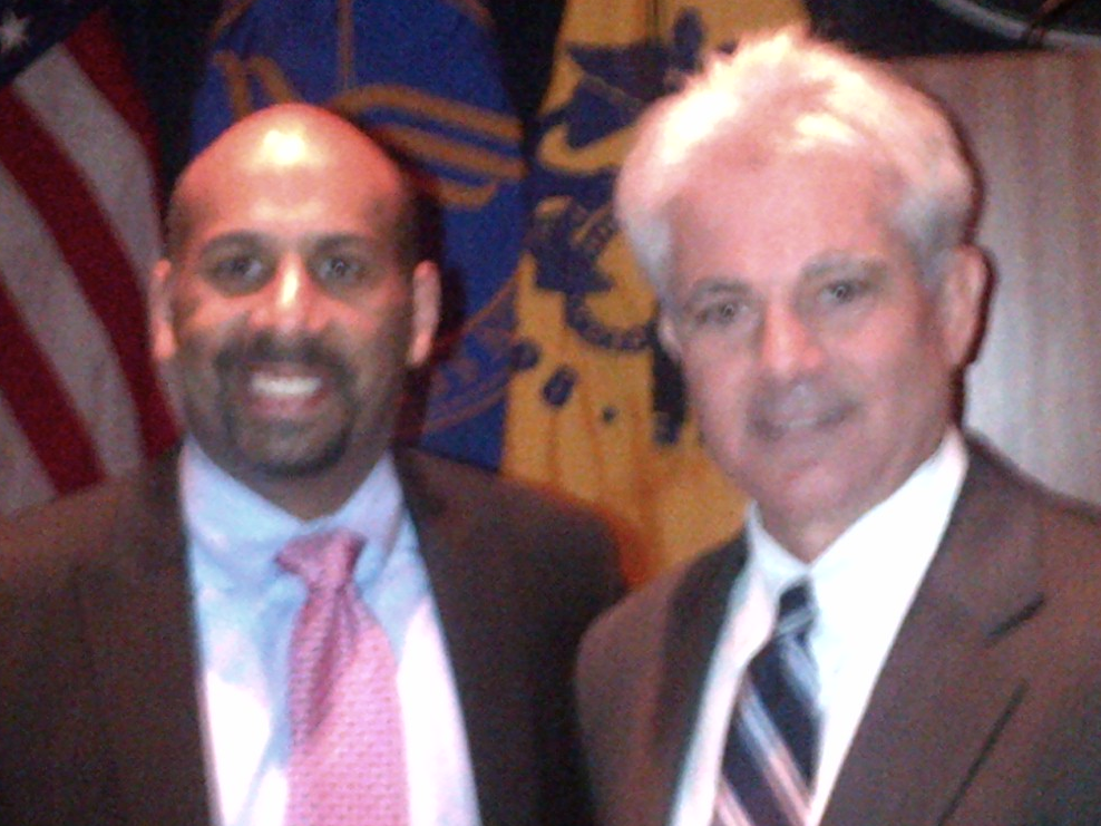 Mr. Miranda with Marco Davis, Deputy Director, White House Initiative on Educational Excellence for Hispanics