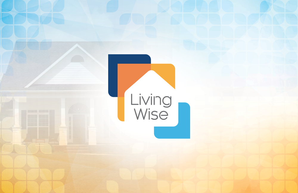LivingWise icon design and splash screen graphics for video segments