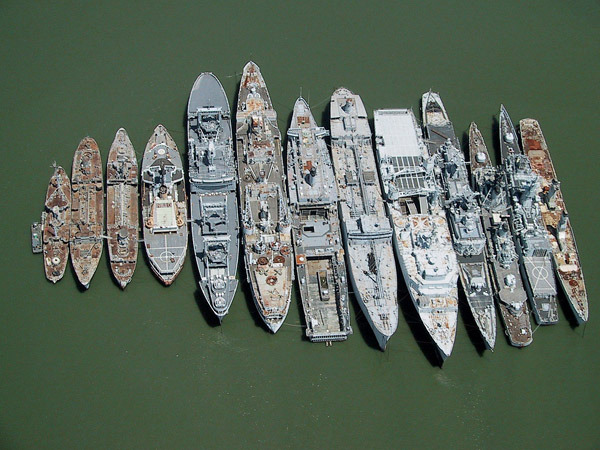 Decommissioned Navy Fleets